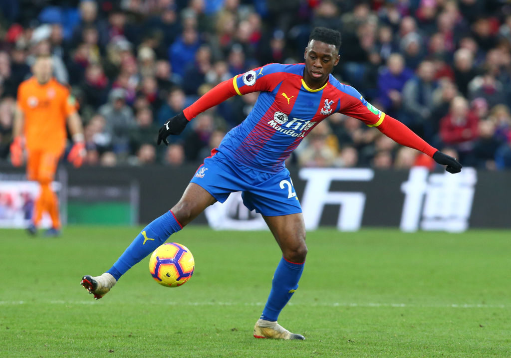 Aaron Wan-Bissaka: The first interview
