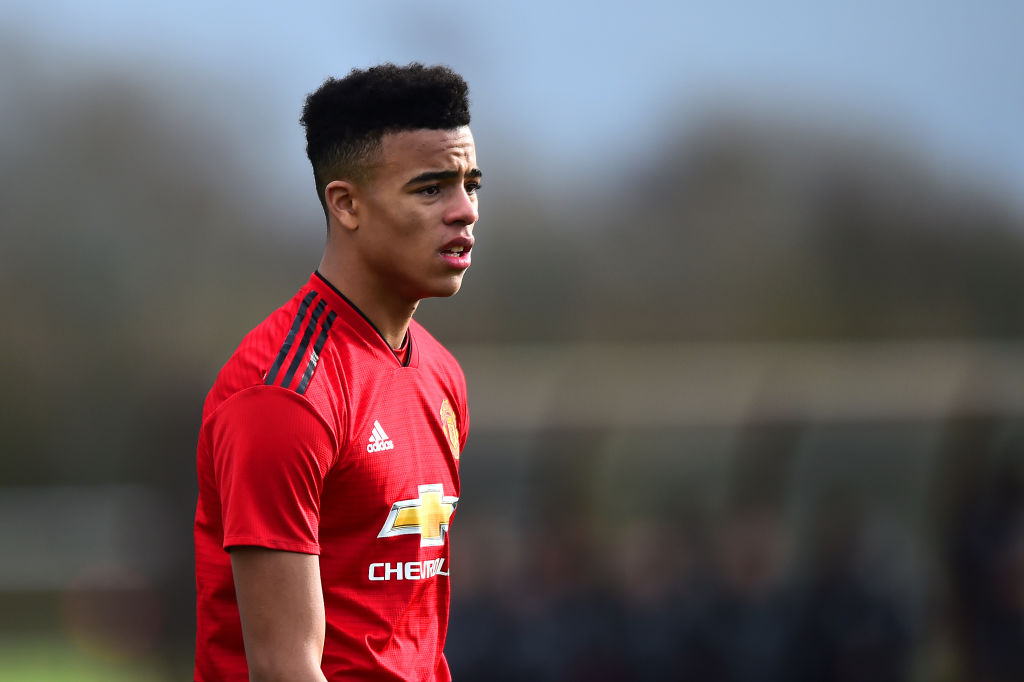 This Is Mason Greenwood S Big Manchester United Chance United In Focus