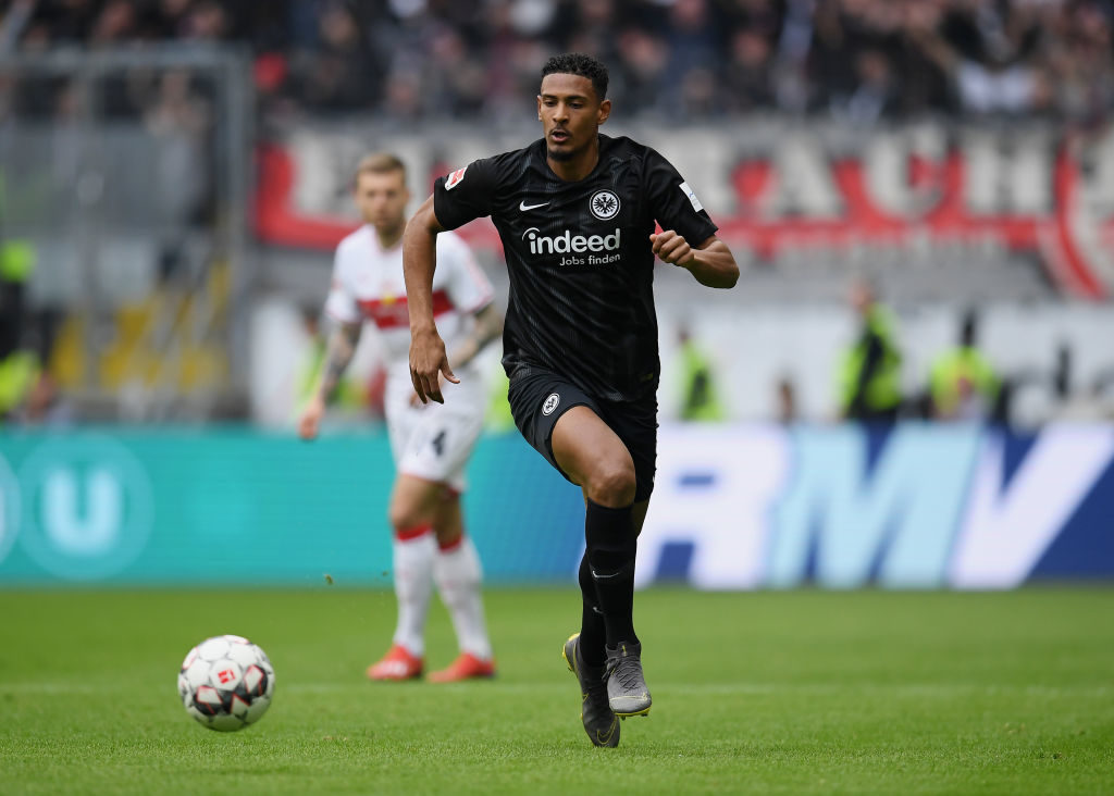Man United monitoring Frankfurt's Haller