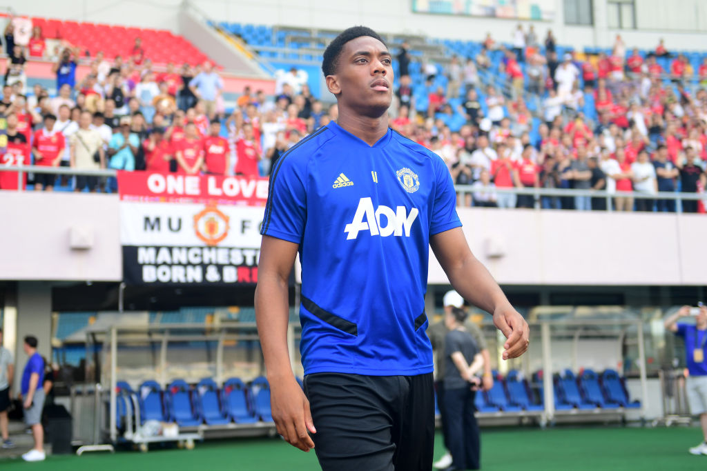 promo code 4d692 ed07e Give Anthony Martial back Manchester United's number nine ...
