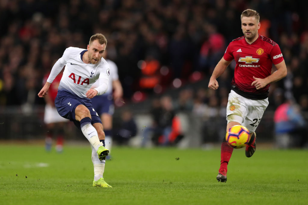 Manchester United bidding for Spurs star Eriksen