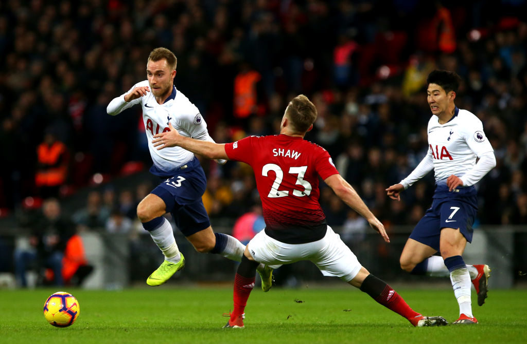 Spurs offer Eriksen to Manchester United for £70m'