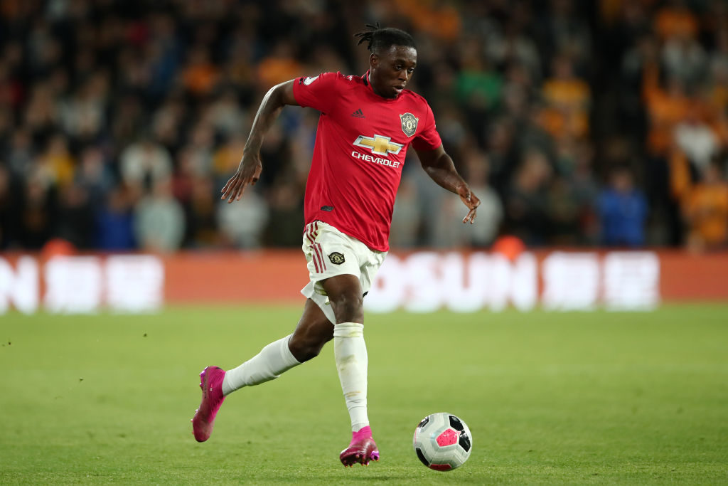 Aaron Wan-Bissaka impresses again for Manchester United