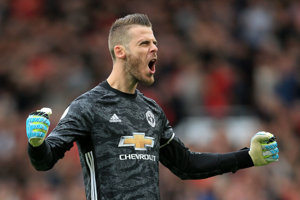 De Gea Makes Team Of The Decade List