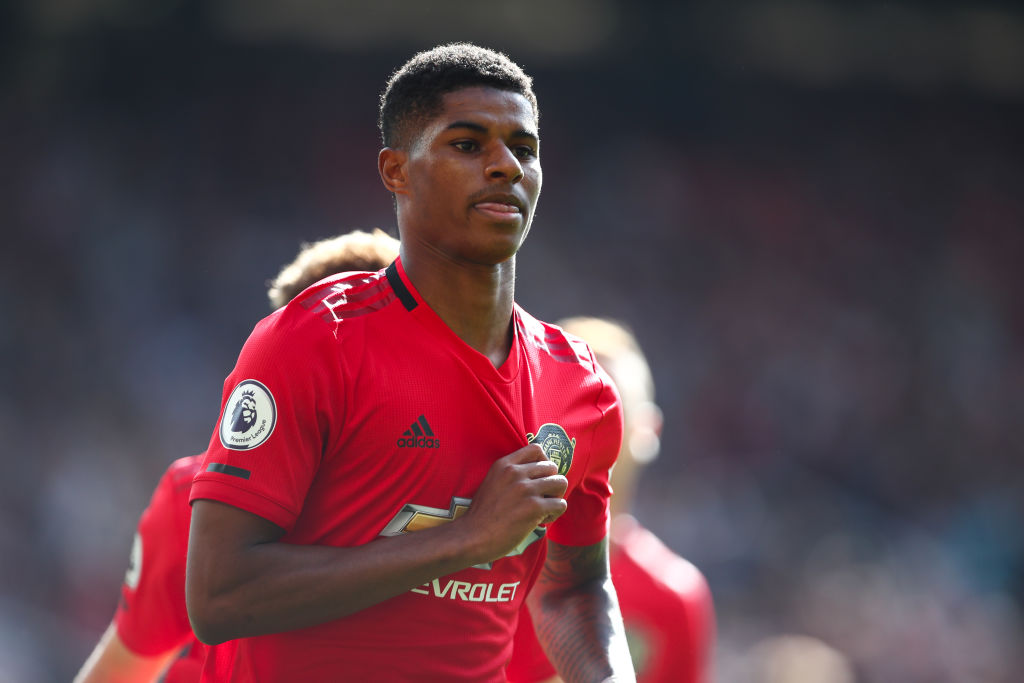Marcus Rashford sends message to United fans after scoring ...