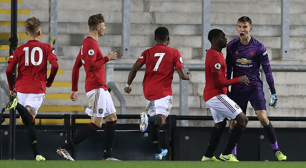 Unbeatable Manchester United talent, 19, begins to show what he is capable of