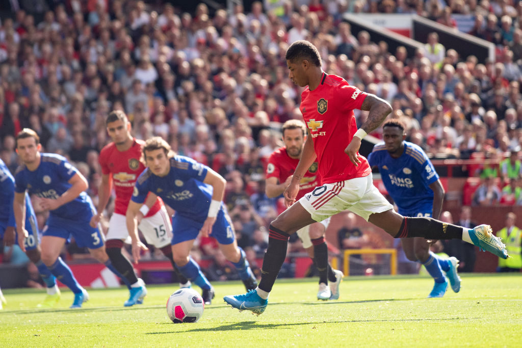 Marcus Rashford sends six word message to Manchester United fans