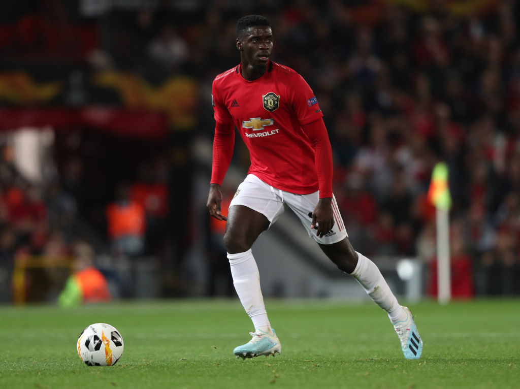 Some Manchester United fans react to Axel Tuanzebe's performance