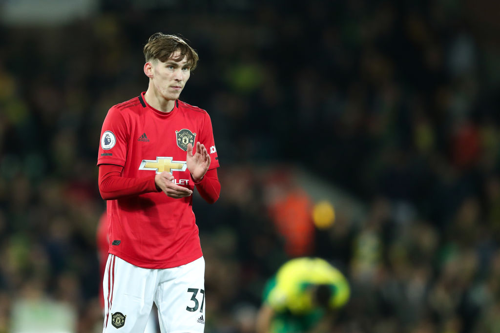 This week has to inspire James Garner to push on at Manchester United - United In Focus