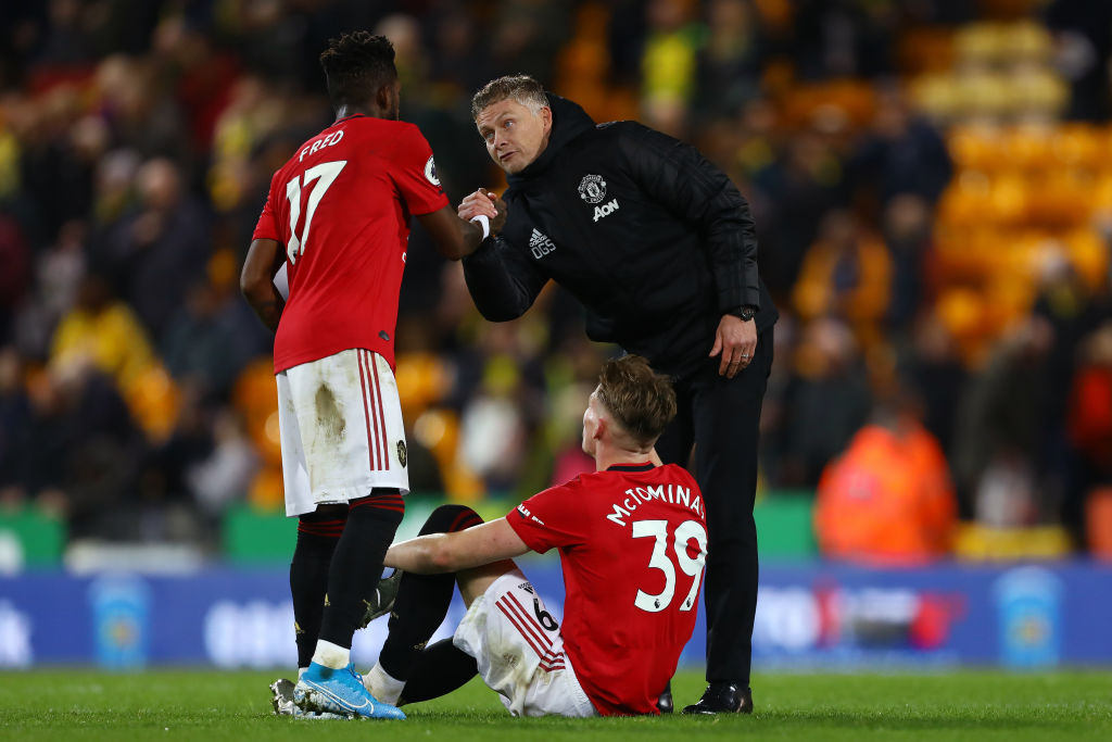 Manchester United fans praise developing Fred and McTominay ...