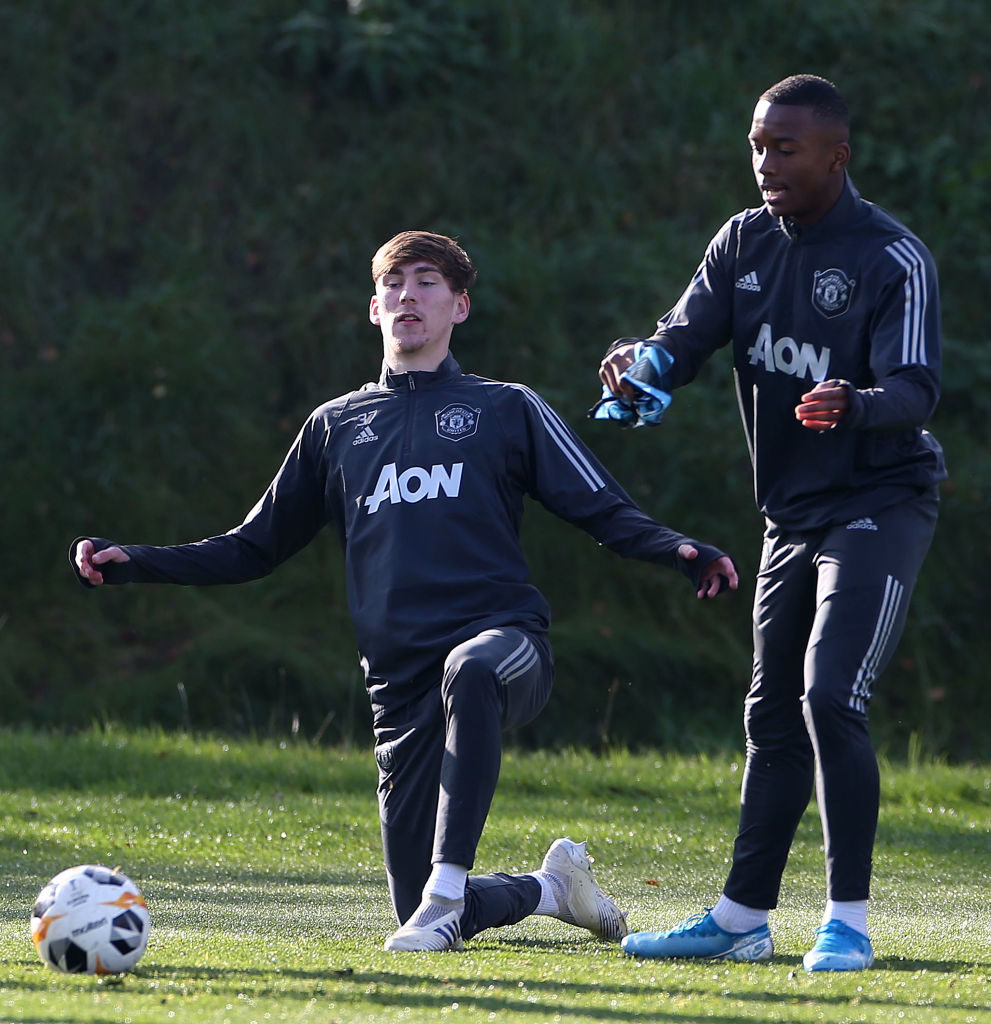 Photos: Two talented United youngsters in contention for debuts after training with first team