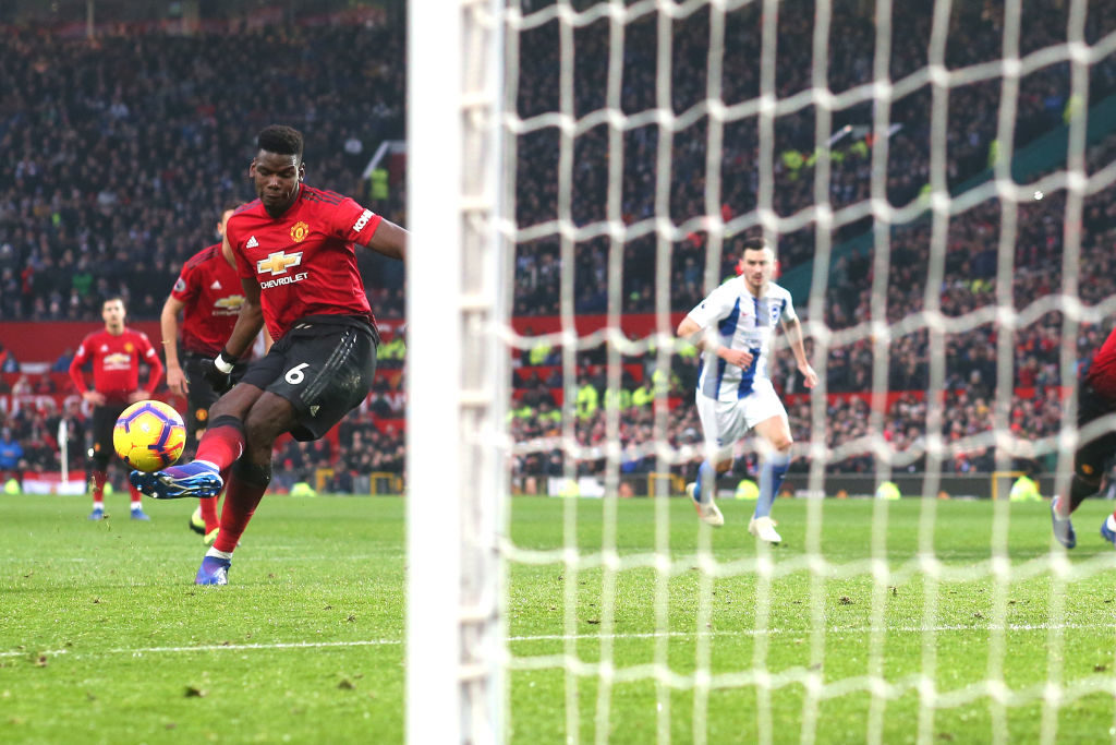 Manchester United vs. Brighton & Hove Albion - Football Match Report