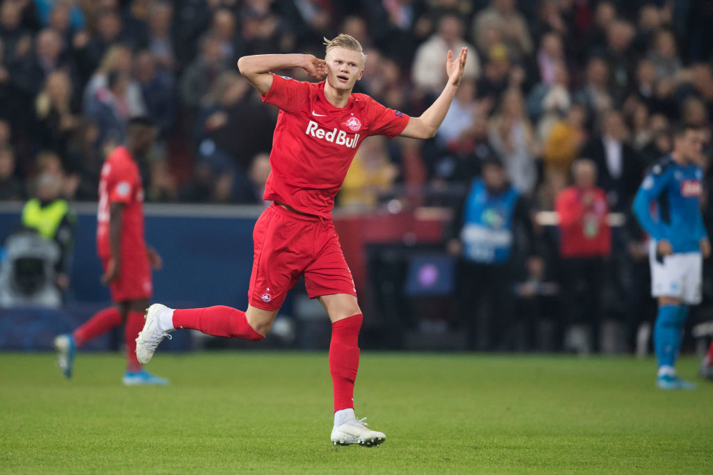 Haaland priced at €100m by Red Bull Salzburg — Real Madrid
