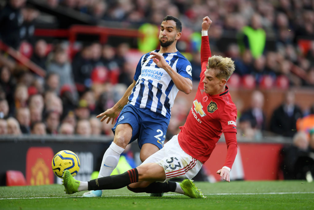 Intense and aggressive: United player earns standing ovation after great Brighton display