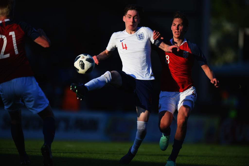 Manchester United teenager hits 10th goal this season with international brace