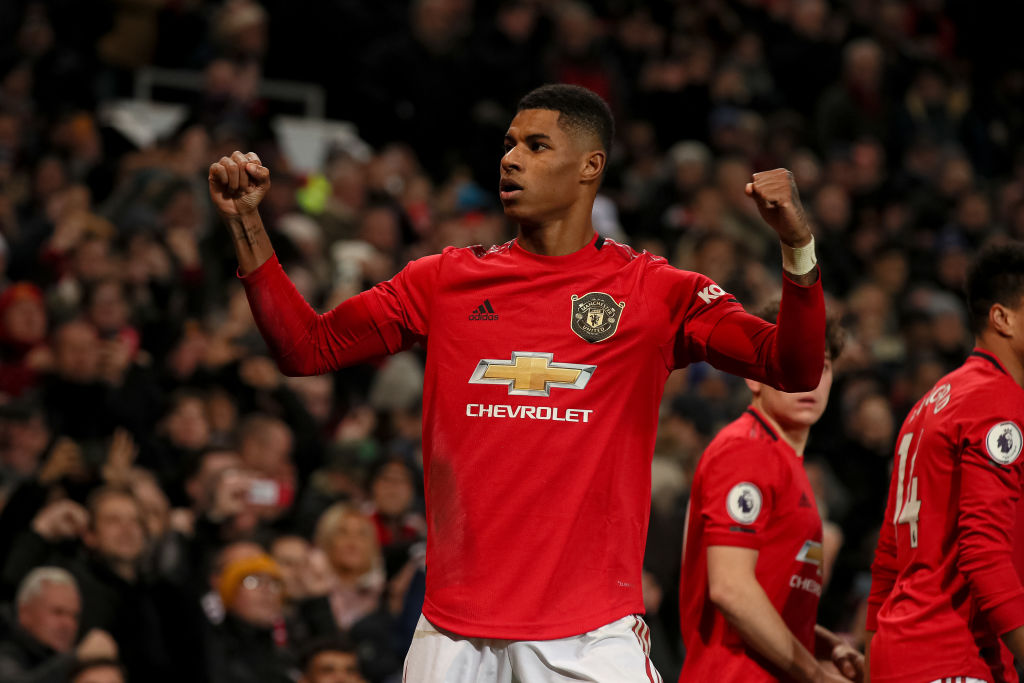 'Unplayable'... United fans react to Marcus Rashford's ...