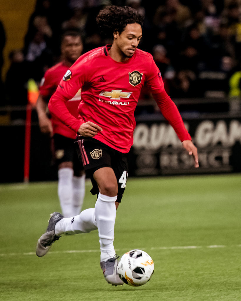 Mellor was primed to be United's lead striker at under-23 level and had to sit out the entire season.