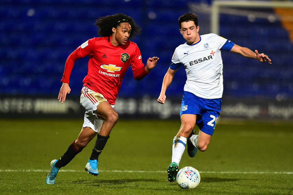 'Unstoppable'...Criticised Manchester United teenager makes last week's error look implausible
