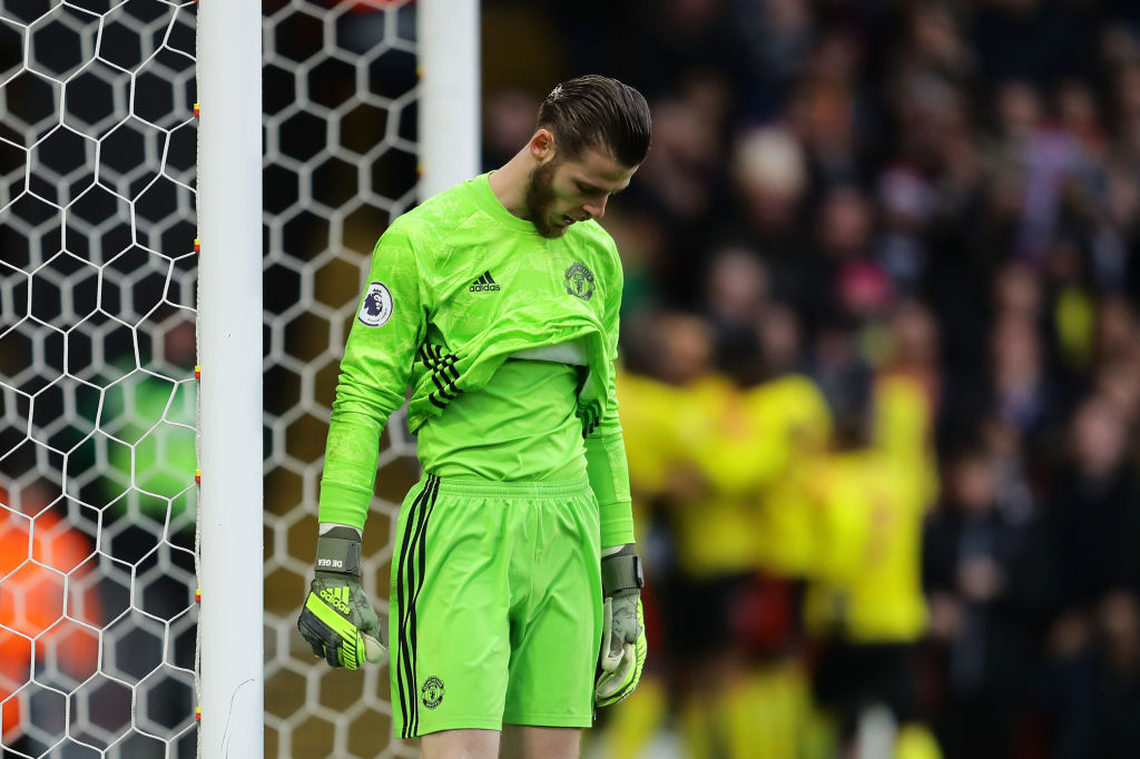 David De Gea disillusioned by Manchester United struggles - Parker