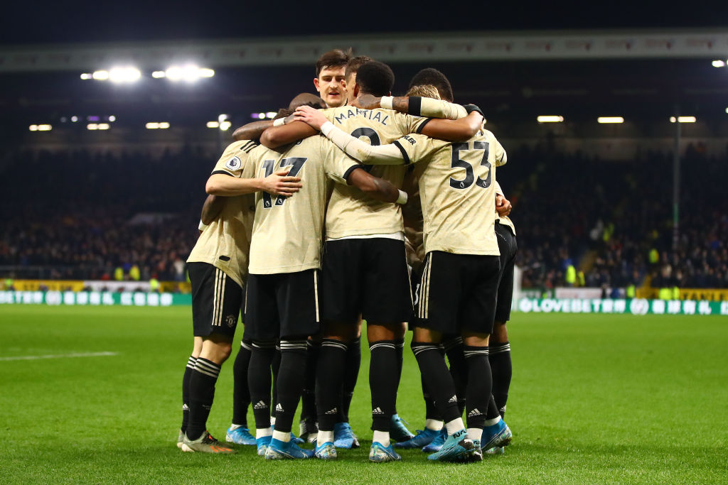 Image result for manchester united 2-0 burnley 2019