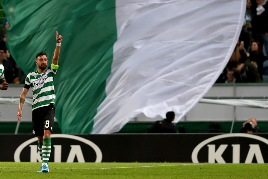 Sporting Lisbon prepares for the departure of Bruno Fernandes