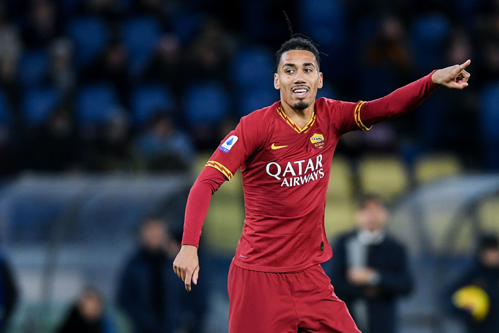 Chris Smalling close to permanent Roma move after missing Manchester United training