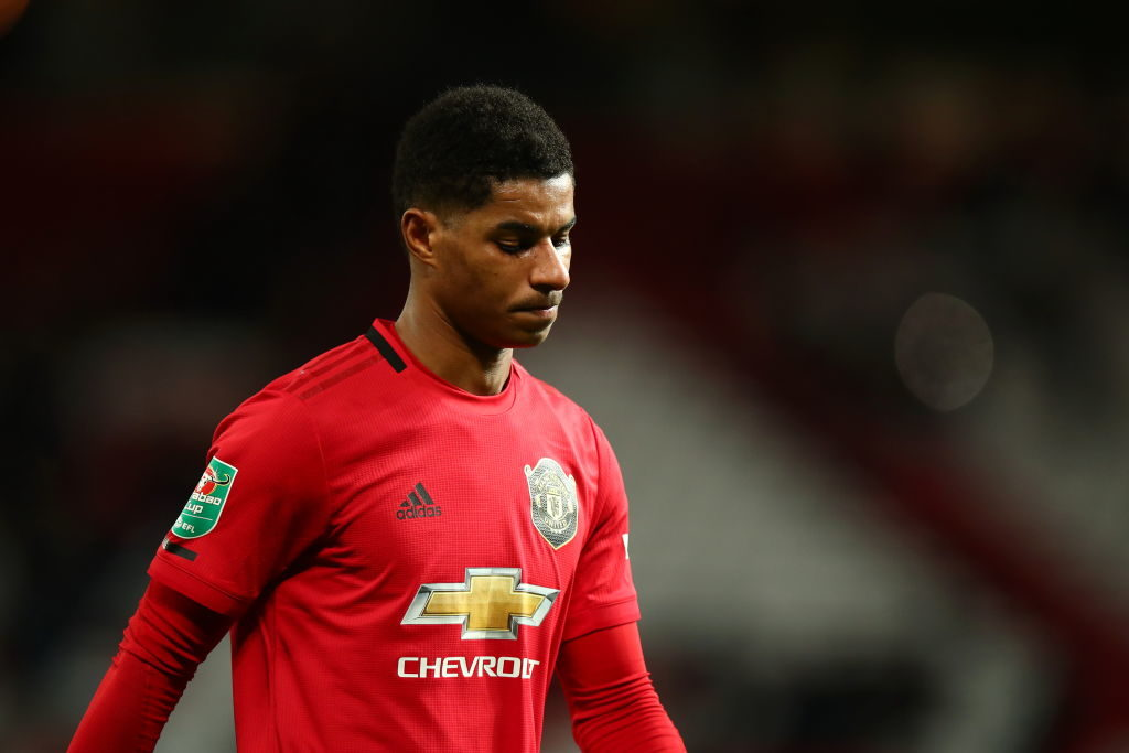 Marcus Rashford sends message to United fans after defeat ...