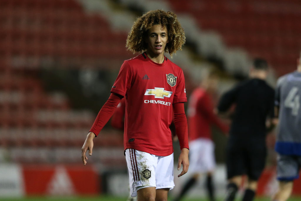 Mejbri and Mengi stand out for United in FA Youth Cup win