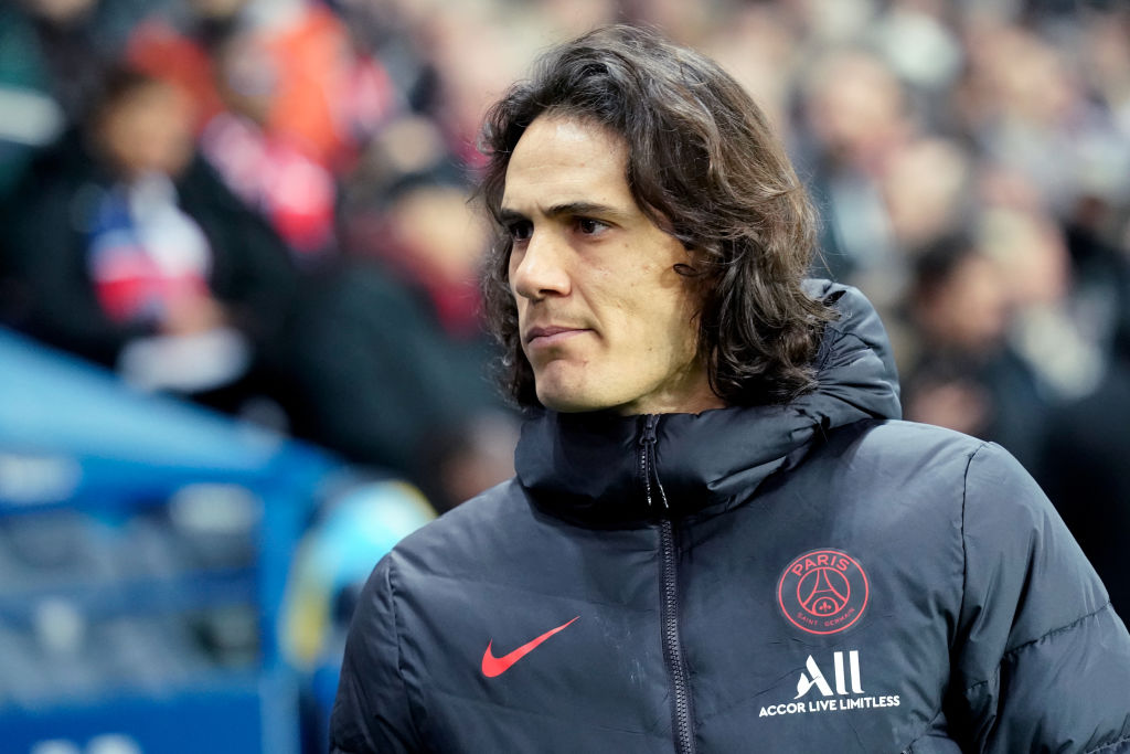 Four Possible Squad Numbers For Edinson Cavani At Manchester United United In Focus