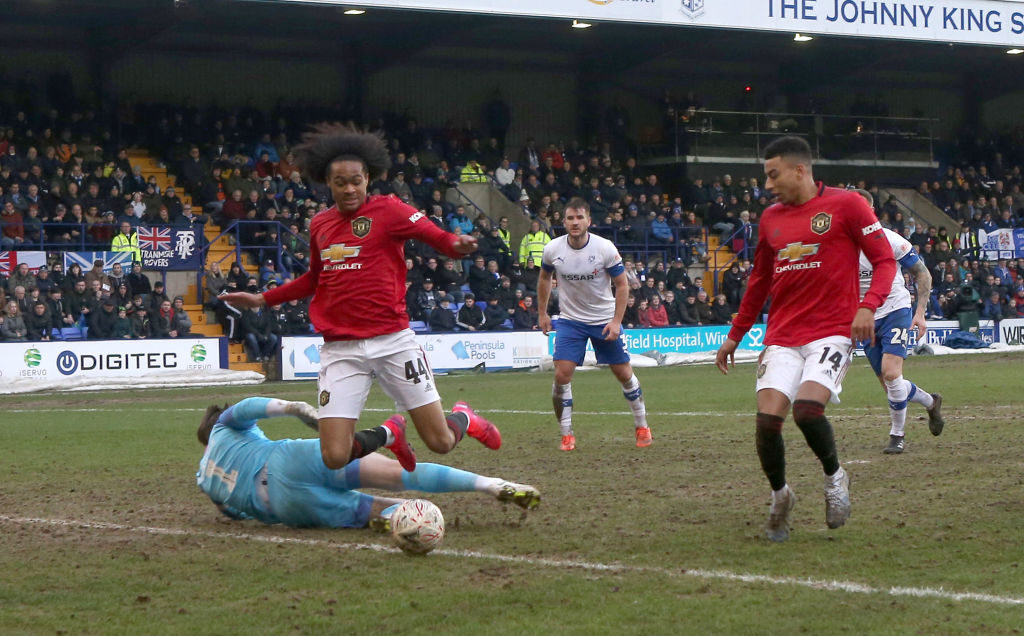 Solskjaer clearly has not given up on 20-year-old Manchester United talent