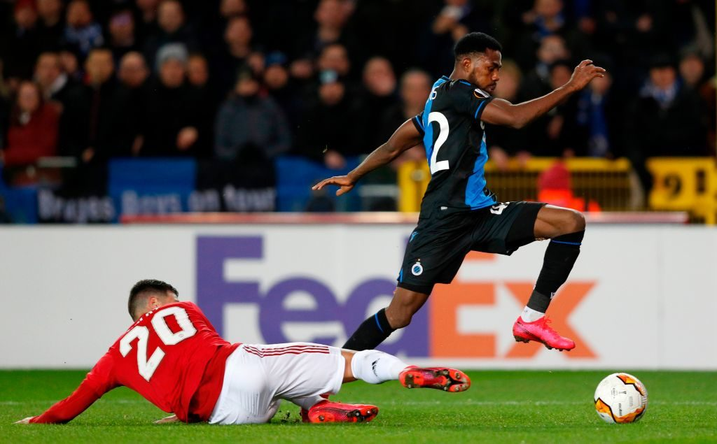 Club Brugge get double injury blow before Manchester United second leg