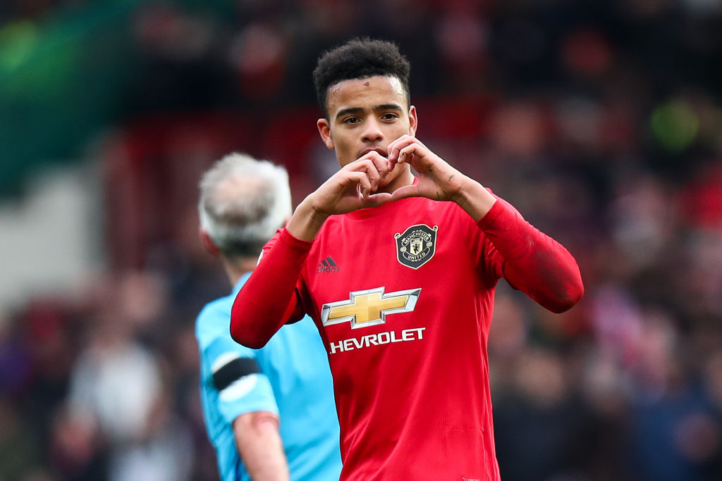 Mason Greenwood Can Still End 2020 As Manchester United S Lead Striker United In Focus