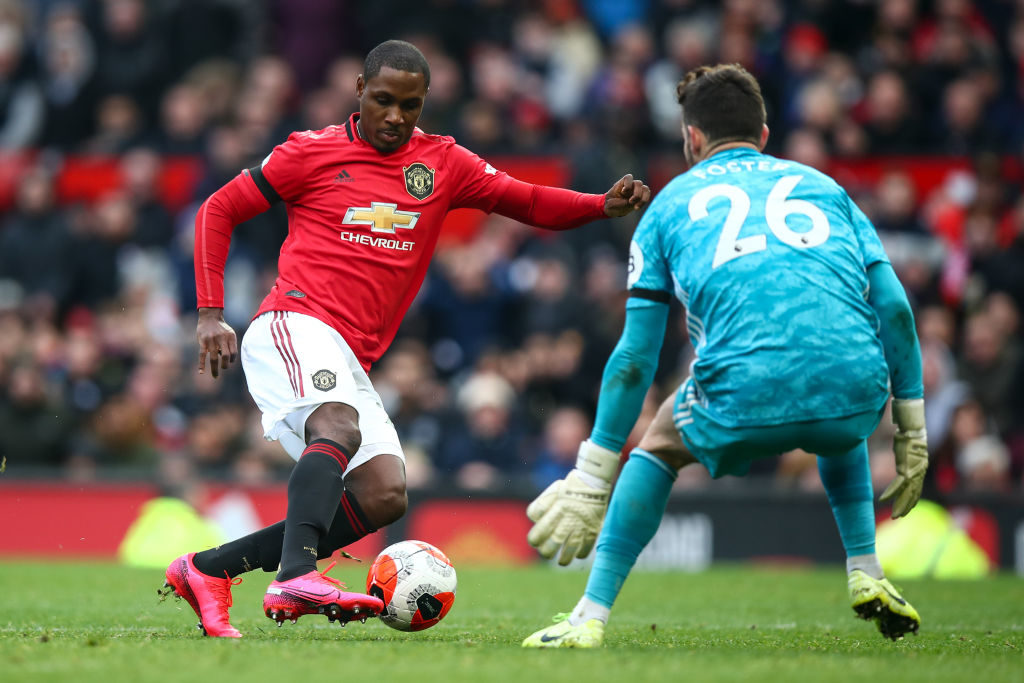 Odion Ighalo's time will come, he may already be having effect at United