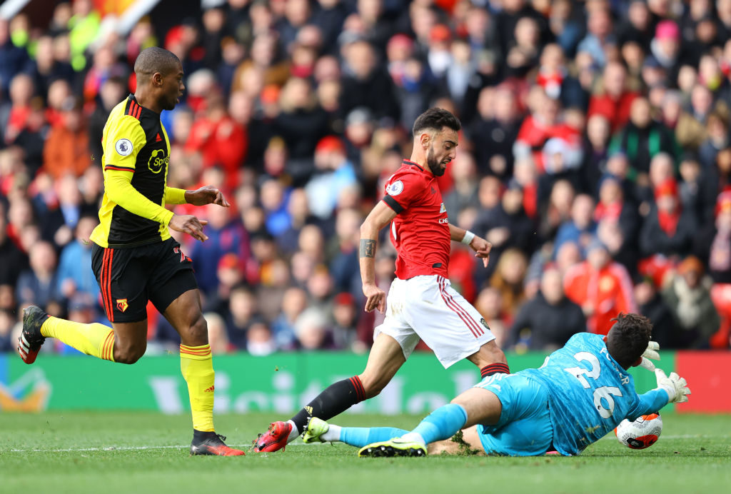 Watford star says Manchester United ace was too fast for him