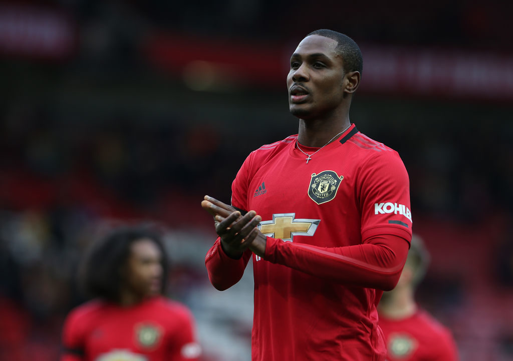 Ighalo: I want to stay at Man U