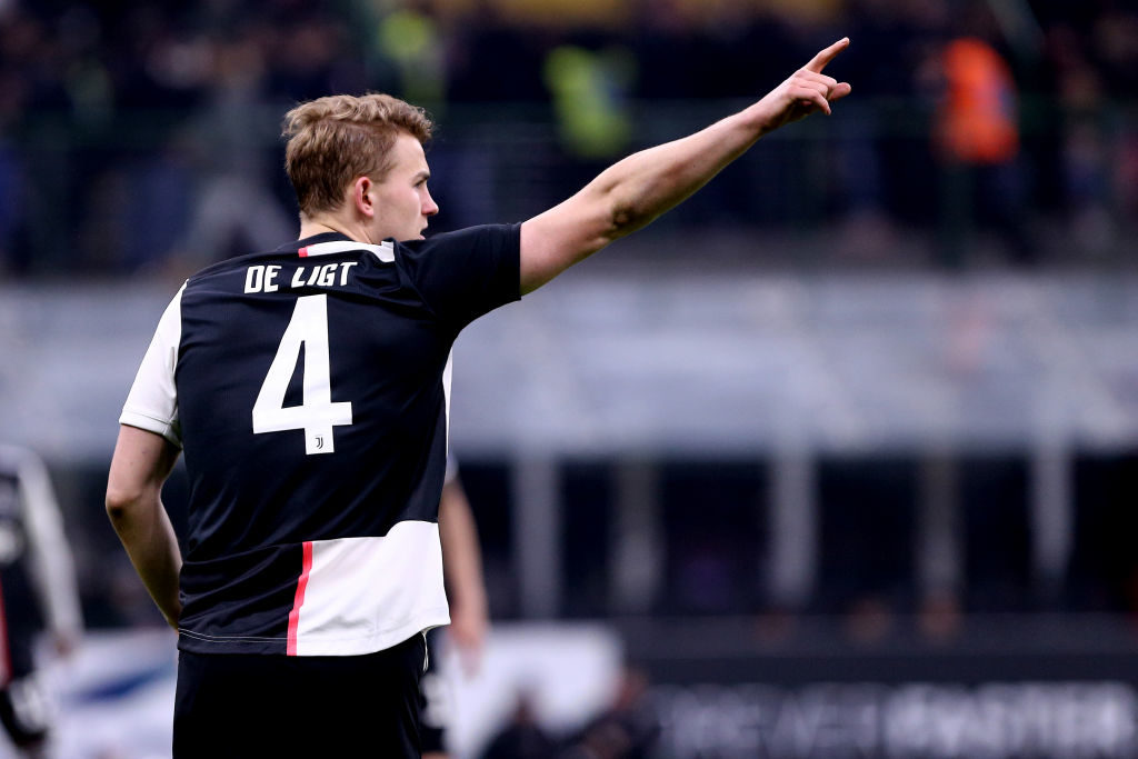 Manchester United hoping to do a deal for De Ligt