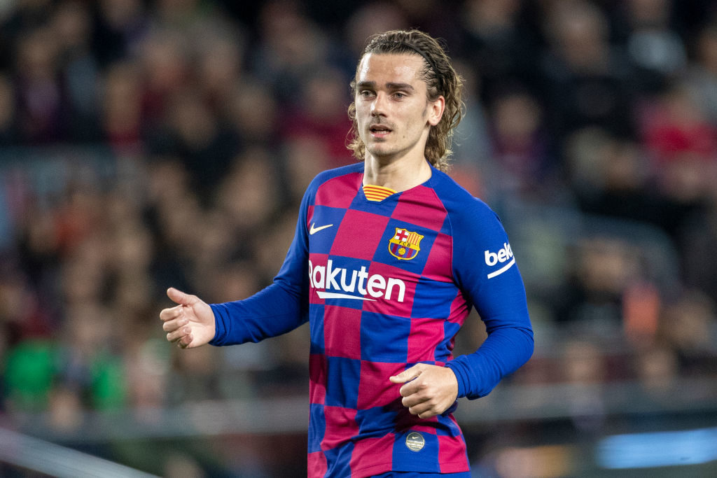 Griezmann wants No.7 shirt at Barcelona amid speculation over future