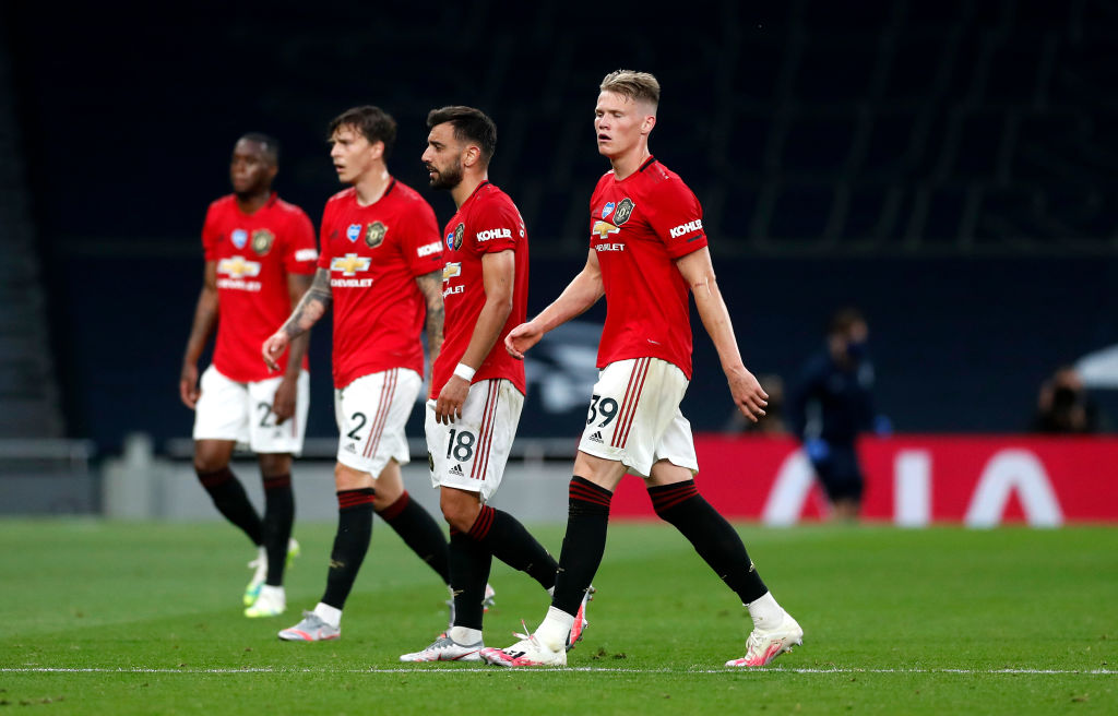 Five Things We Learned As Manchester United Draw 1 1 With Tottenham United In Focus