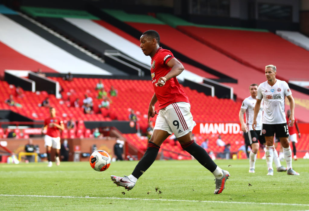 Anthony Martial, Marcus Rashford and teammates send messages after Manchester United win