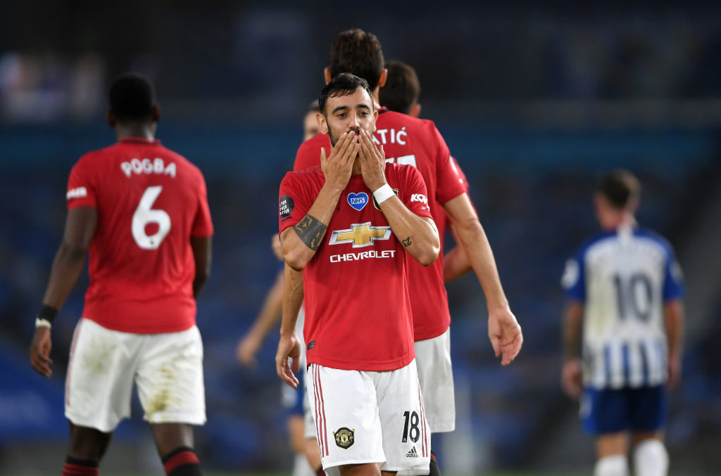 Bruno Fernandes reveals how Paul Pogba helped him settle at Man United
