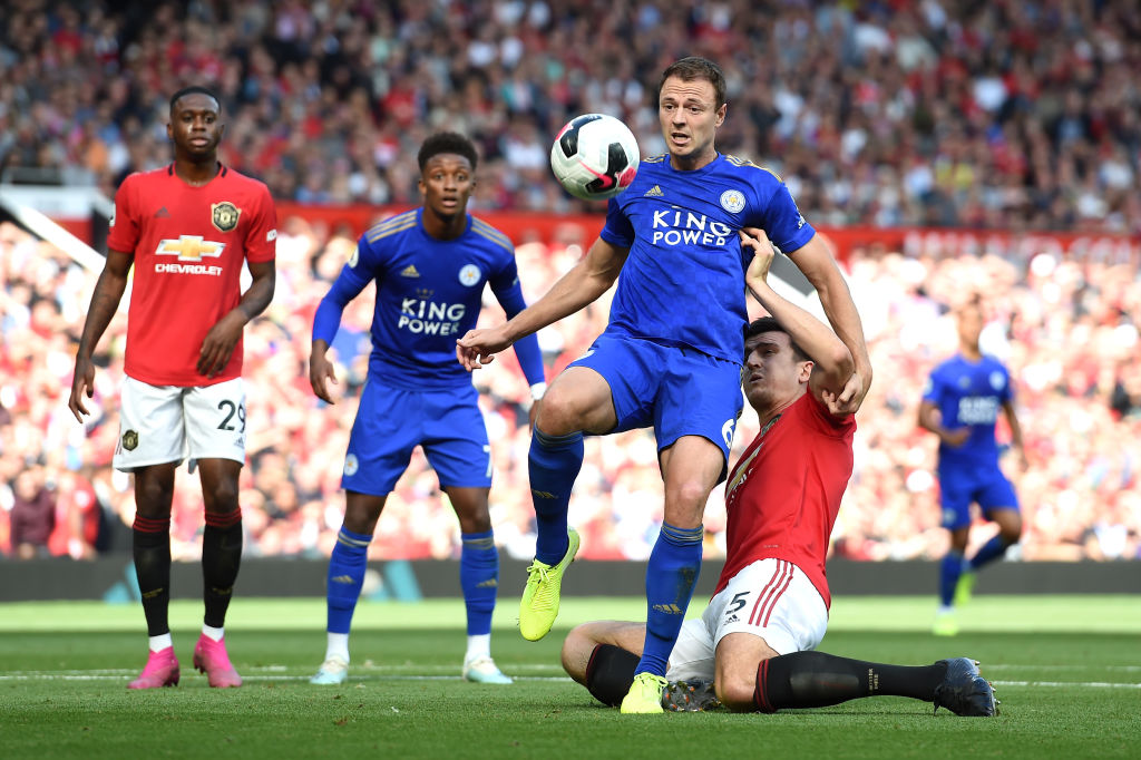 Leicester's Rodgers says more pressure on Man United in top 4 showdown