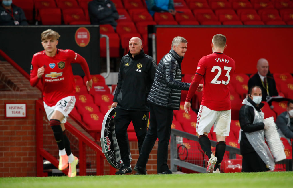 Solskjaer gives injury update over Manchester United duo