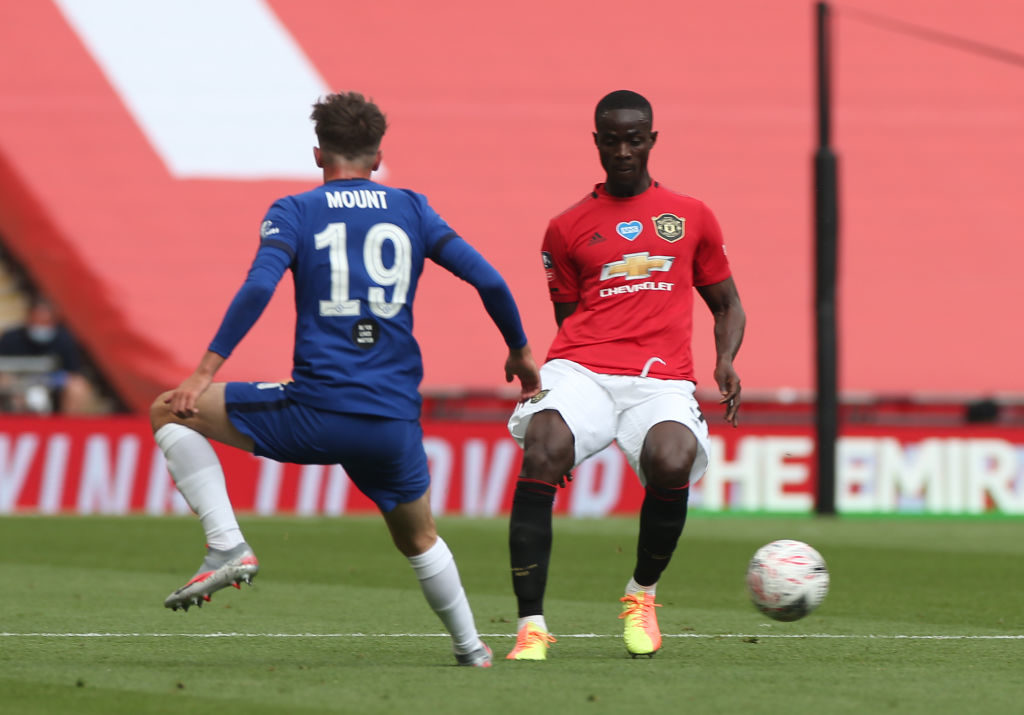 Eric Bailly: Manchester United defender stretchered off after head clash against Chelsea
