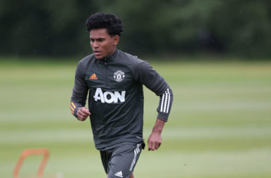Manchester United U23 Training Session