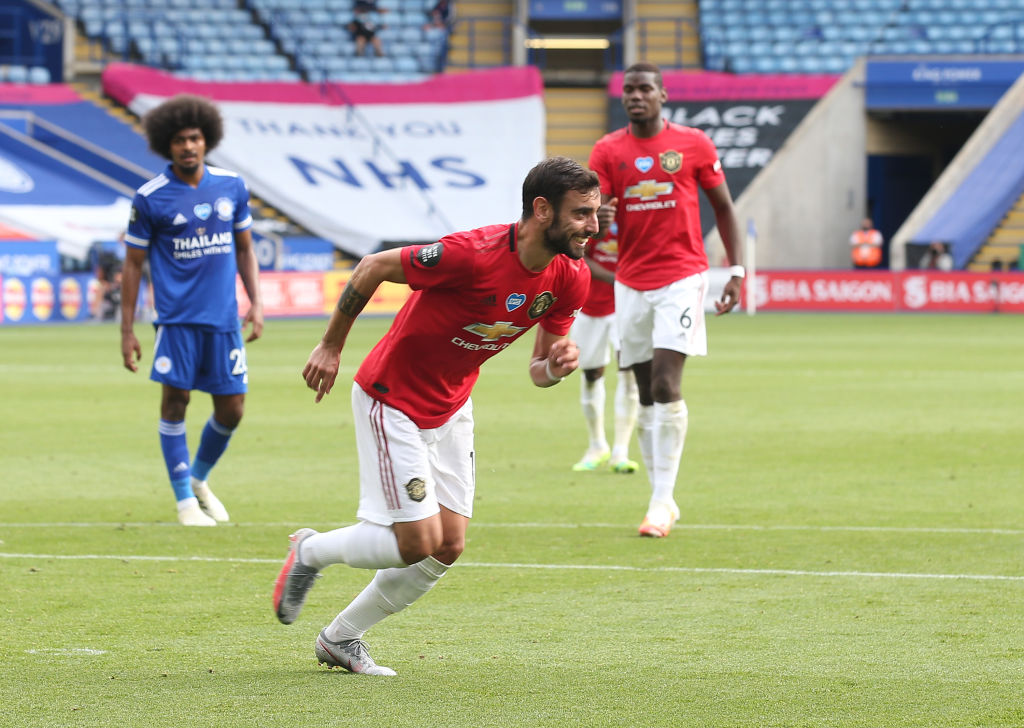 Manchester United in nearly-$100 million game against Leicester