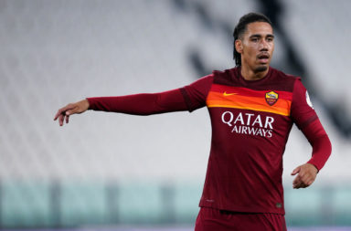 Chris Smalling of  As Roma during the Serie A match between