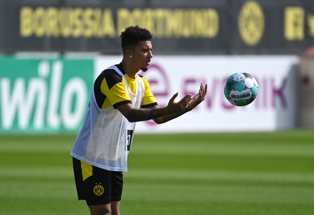 Dortmund chief expects Man United target Jadon Sancho to stay