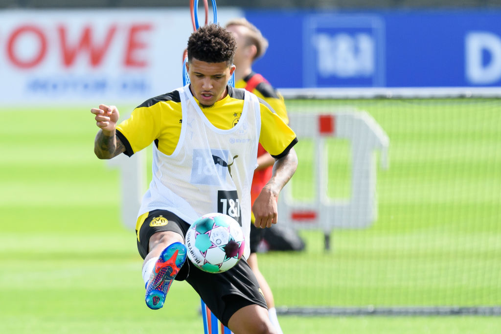 Manchester United's Jadon Sancho pursuit in jeopardy