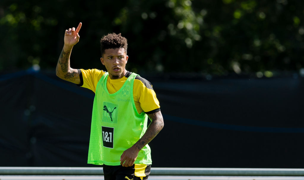 Borussia Dortmund Bad Ragaz Training Camp