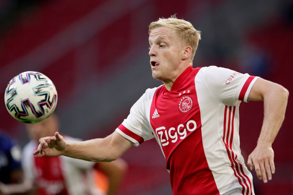 Five Possible Squad Numbers For Donny Van De Beek At Manchester United United In Focus